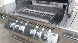Milano Barbeque grill top adjustable
